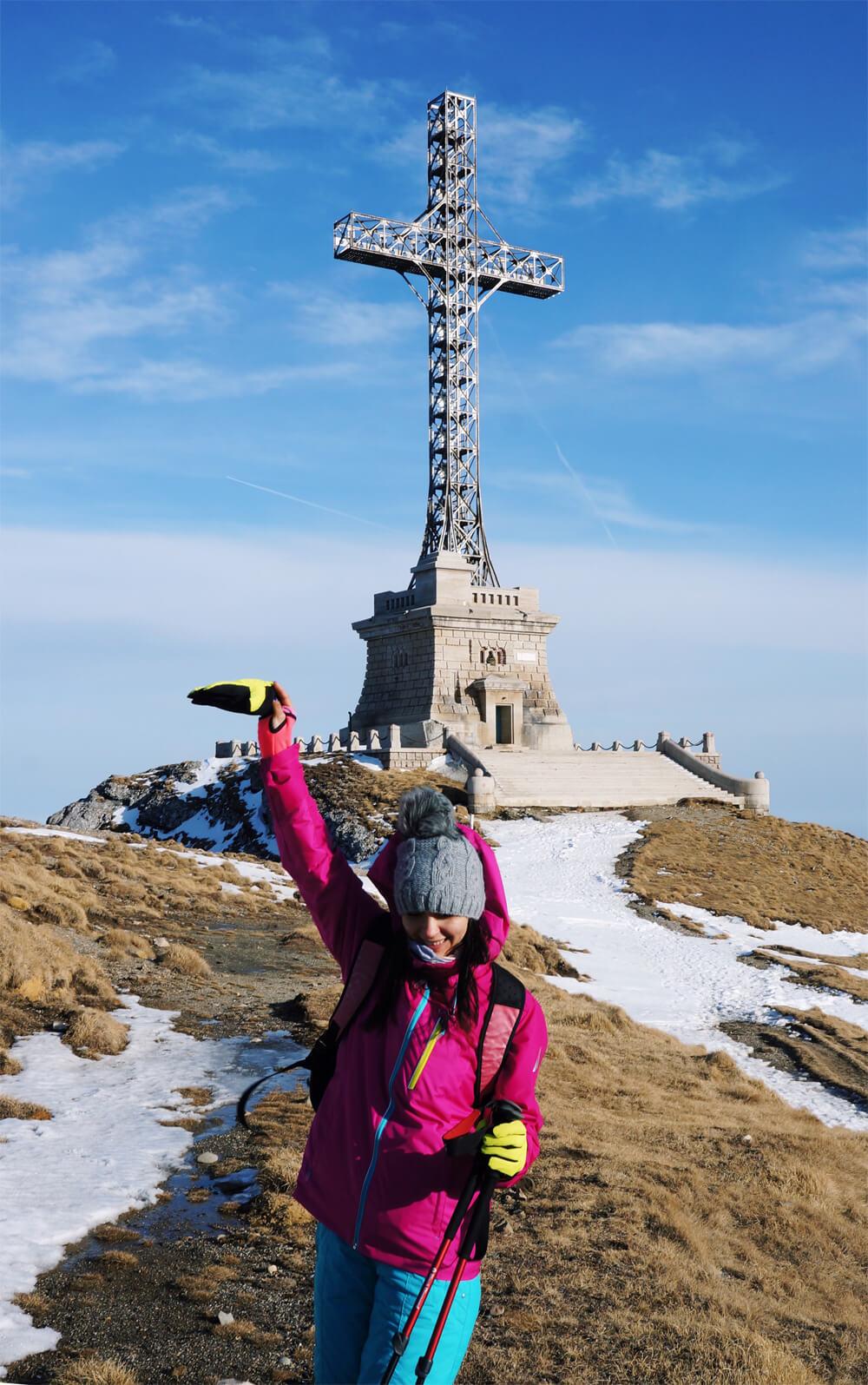 sandra stoicovici muntii bucegi sfinx babele cruce caraiman