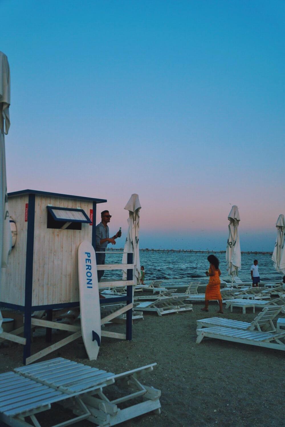 sandra stoicovici peroni cafe del mar summer