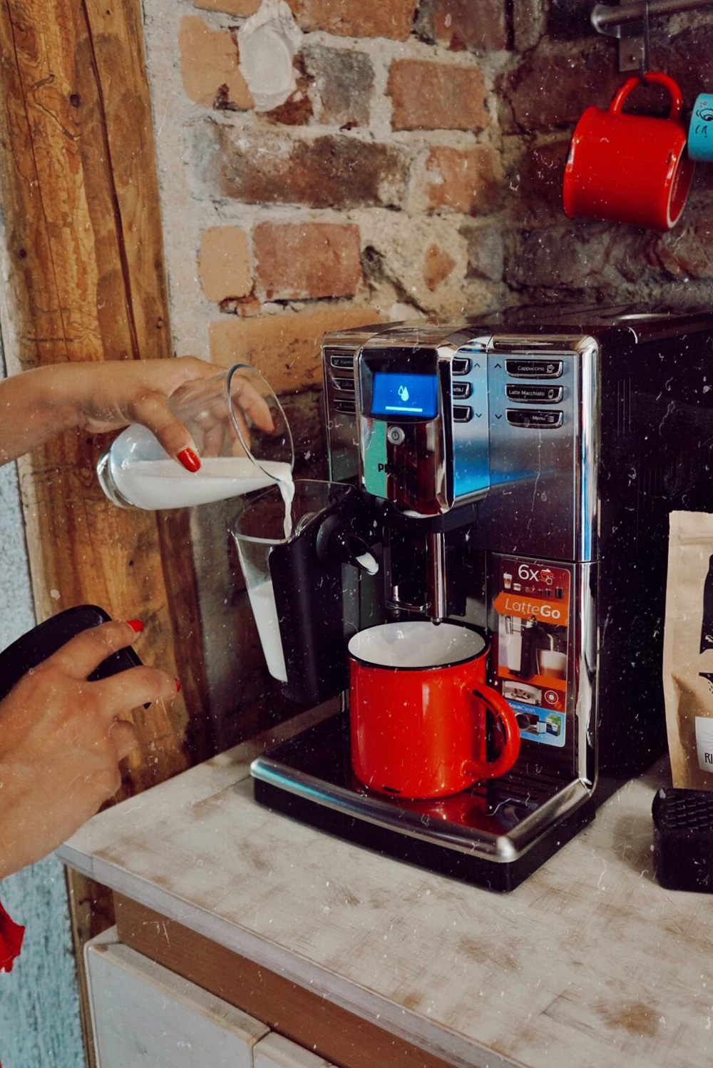 sandra stoicovici cafea philips lattego 5000
